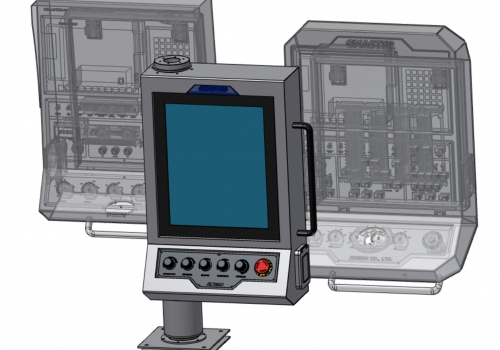 PANEL PC CNC CONTROLER by com4uinc